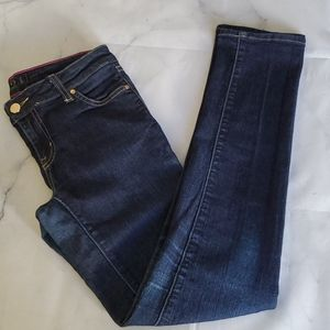 Kate Spade New York Solid Blue Jeans